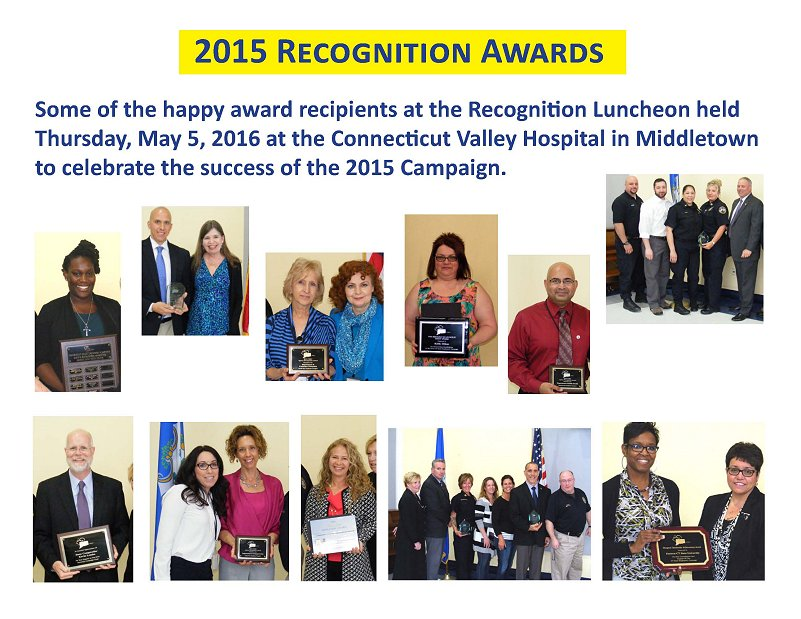 2015 recognition awards
